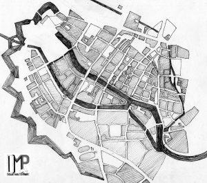 Mapa Gdańska