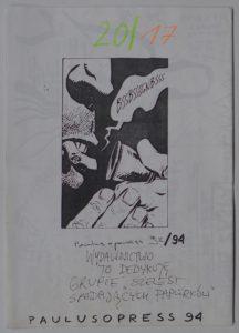 Szelest Spadających Papierków, 1994. Dzięki uprzejmości Pawła Paulusa Mazura