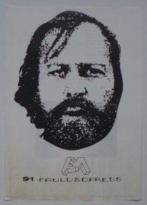 Poezje Seweryna Leciejewskiego, 1991. Dzięki uprzejmości Pawła Paulusa Mazura