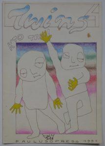 Twins 4, 1991. Dzięki uprzejmości Pawła Paulusa Mazura